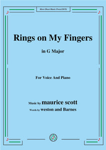 Maurice Scott-Rings on My Fingers