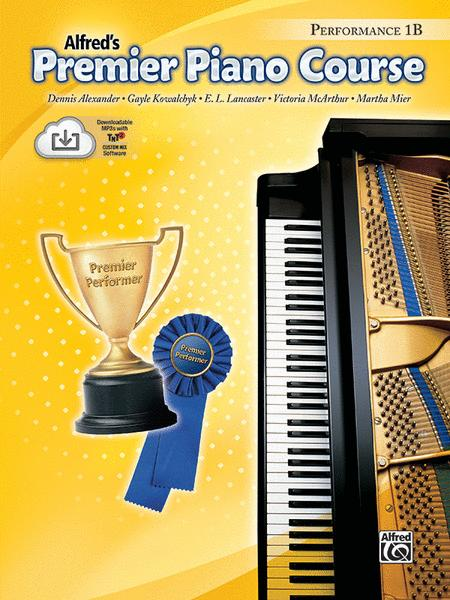 Premier Piano Course Performance, Book 1B