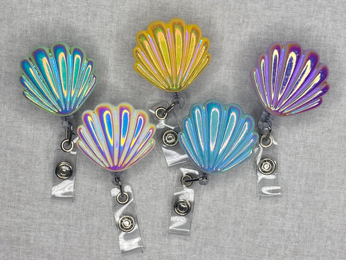 Mermaid Shell Retractables