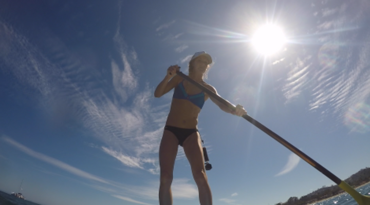 SUP workout with Amanda Seaberg