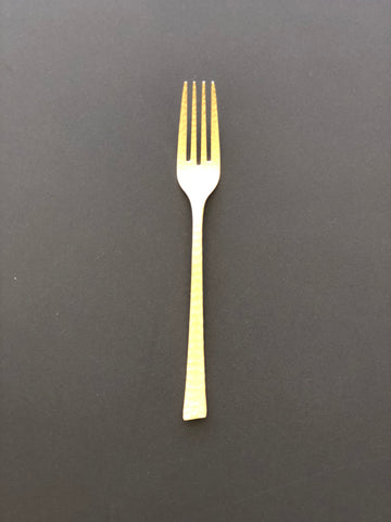 Dinner Fork Gold Plated Stainless Steel Dinner Fork