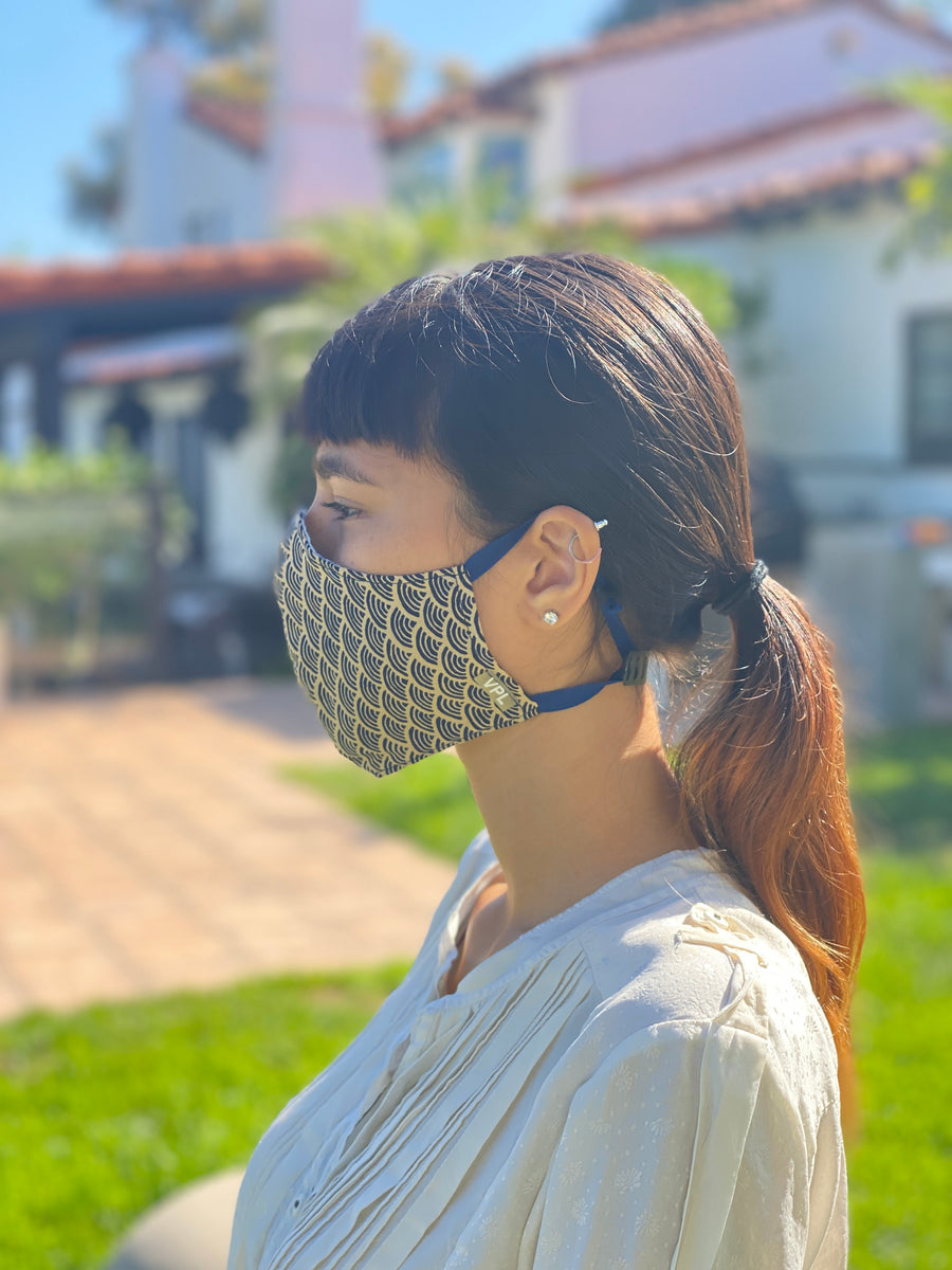 Japanese Cotton Mask (Nami)