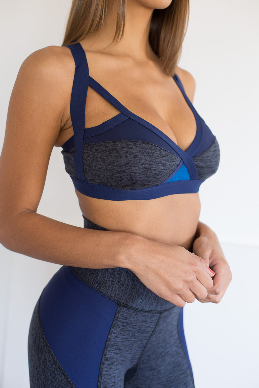Ippon Bra: Navy