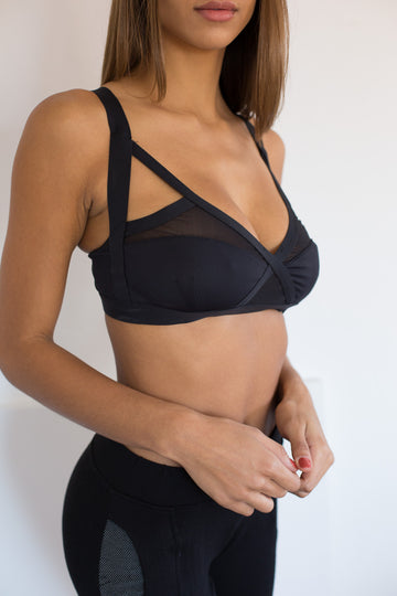Ippon Bra +: Black