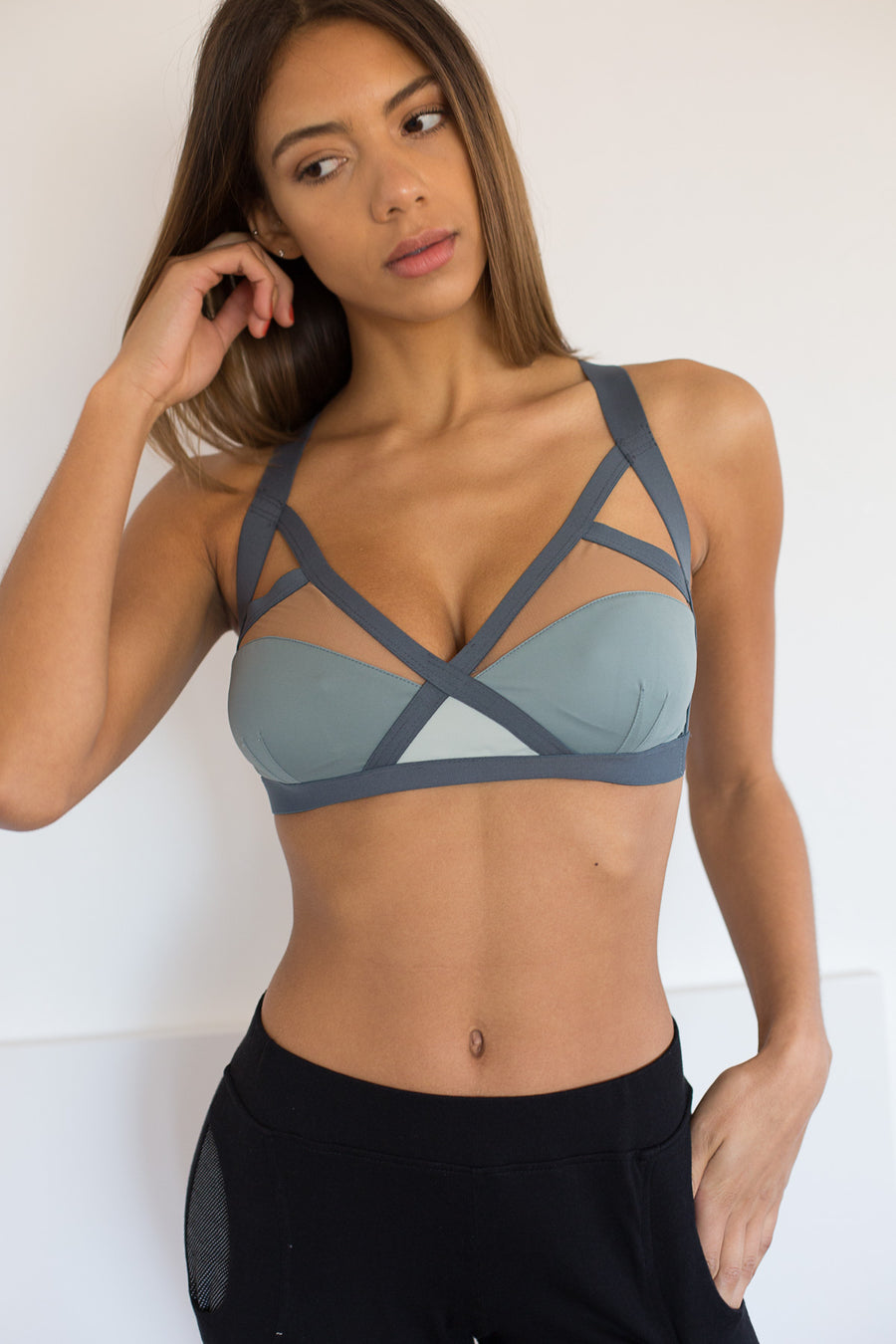 Ippon Bra: Ice & Nude