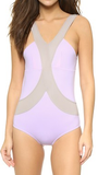 Harness One Piece Suit: Lavendula