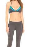 Banded Bra Top : Turquoise