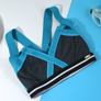 Insertion Bra W: Turquoise