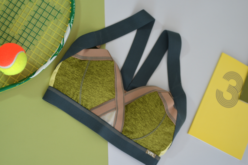 Insertion Bra W: Lemon Lime