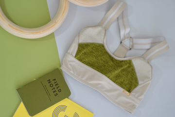 Neo Gridlock Bra: Lemon Lime