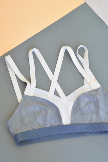 Sport Nihon Bra: Weathered Grey