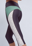 X-Curvate Capri: Mint Space Dyed