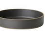 "Hasami Black Bowl 10"" X 2.1/8"""