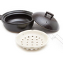 Basic Bistro Donabe Steamer Black