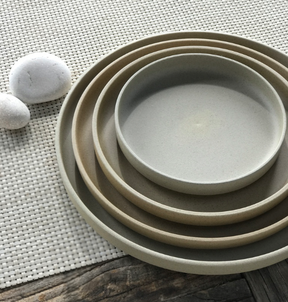 Hasami Natural Plate 7 3/8
