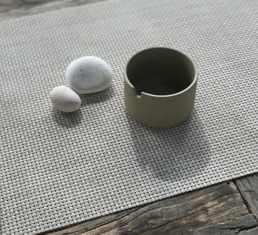 Hasami Natural Sugar Pot 3.3/8