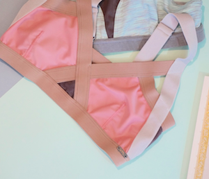 Neo Insertion Bra W: Blush