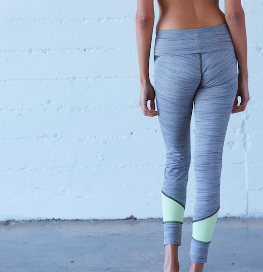 Shime Legging: Grey