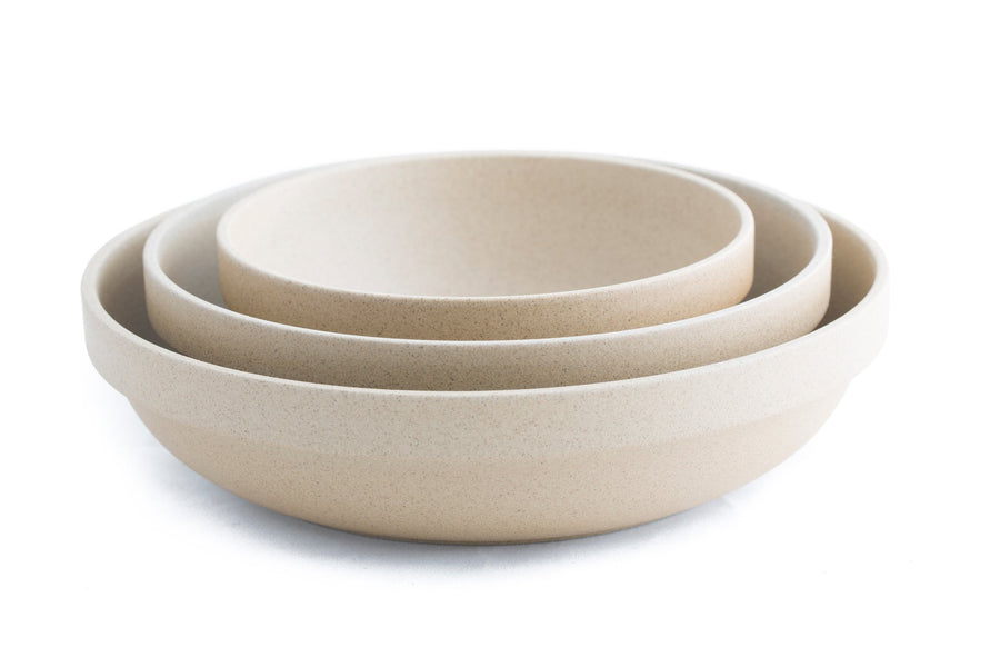 Hasami Natural Round Bowl 8 5/8___