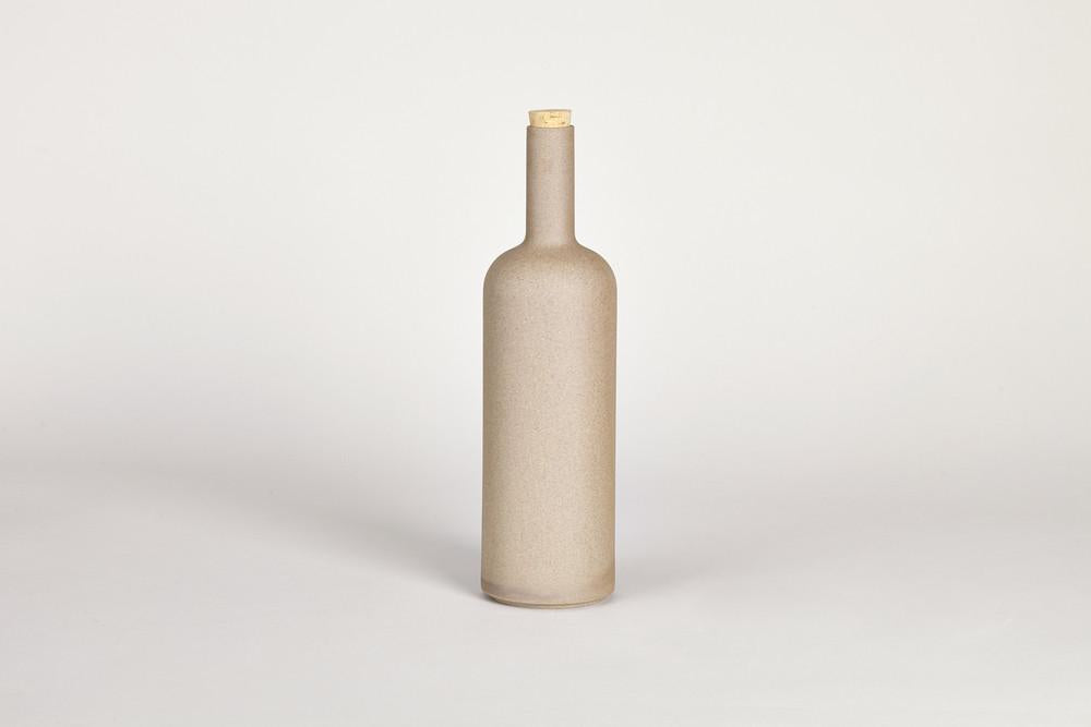 "Hasami Natural Bottle 12"" H"