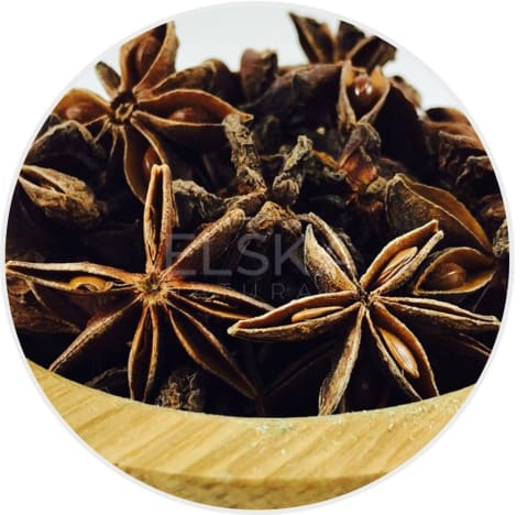 Anise Star Whole in Canada/USA at Bulk Wholesale Prices From Elska Naturals