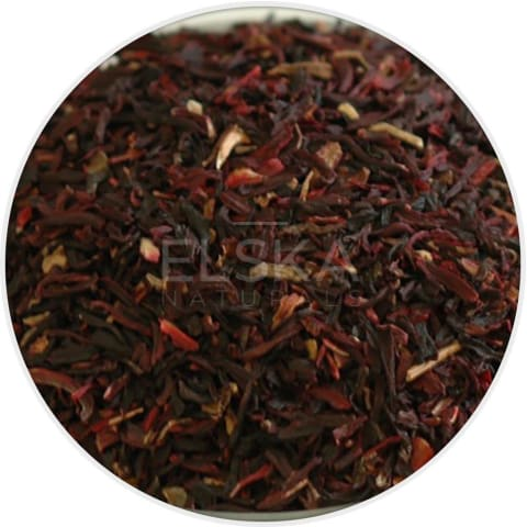 Hibiscus Flower Cut & Sifted in Canada/USA at Bulk Wholesale Prices From Elska Naturals