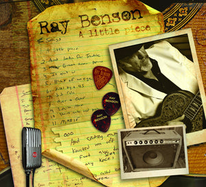 Ray Benson: A Little Piece CD - AUTOGRAPHED