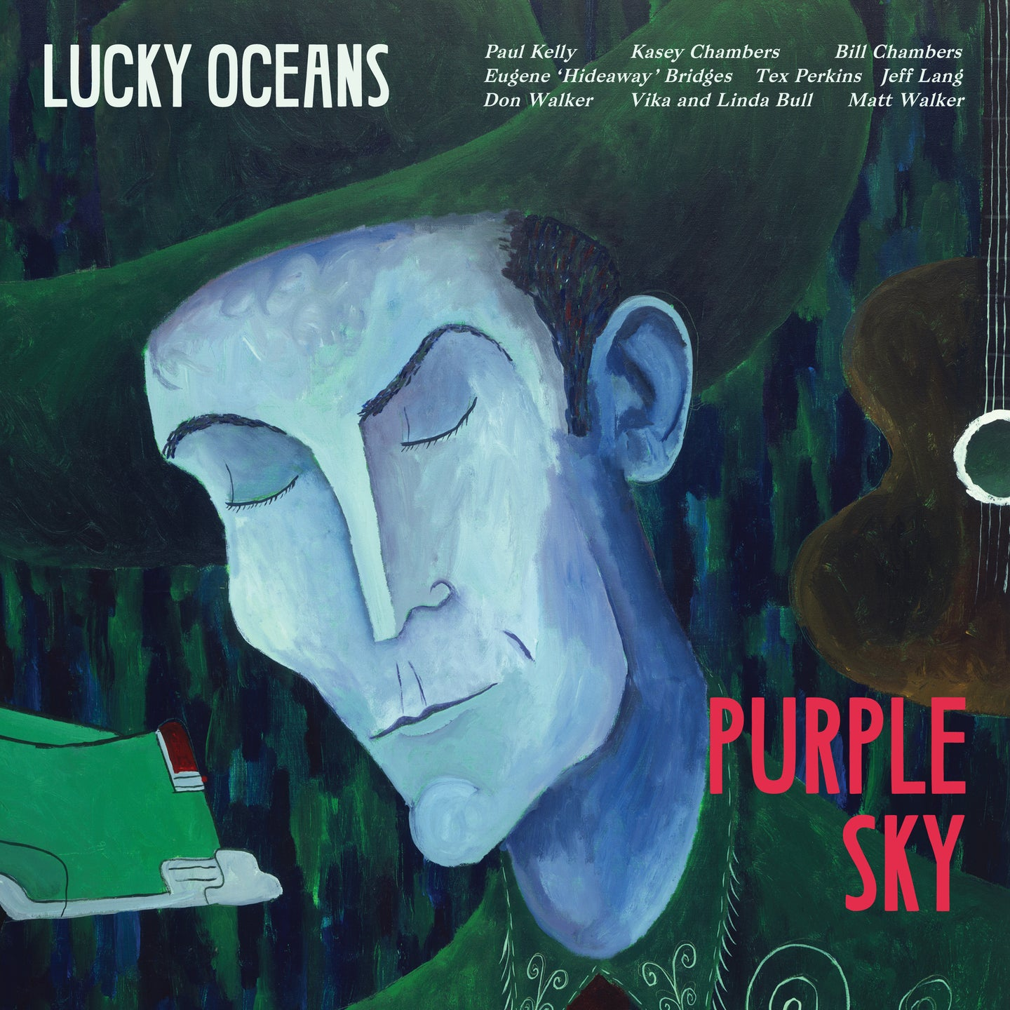 Purple Sky CD (Lucky Oceans)
