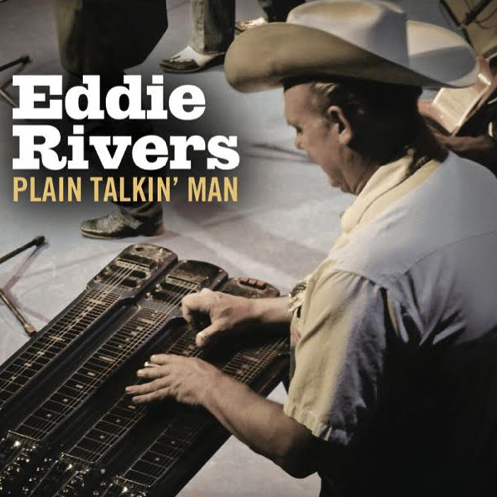 Plain Talkin' Man by Eddie Rivers CD