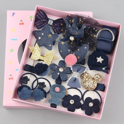 18pcs children cartoon hair clip girl gift - Amazing Vanity Allure