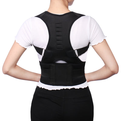 Corrector Magnetic Position Correction Brace Support Back Belt