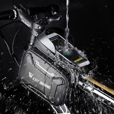 Waterproof Bicycle Bags Front Frame High Durable MTB Bike Bag