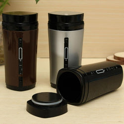 Coffee Automatic Stirring Cup Rechargeable Heating Insulation - Amazing Vanity Allure