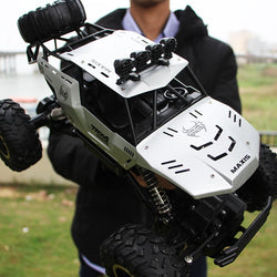 RC Car 4WD climbing Car 4x4 Double Motors Drive Bigfoot Car Remote Control Model Off-Road Vehicle