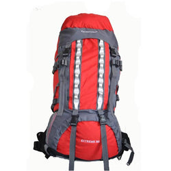 80L External Frame Backpack Camping Hiking Outdoor Sports Travel Bag - Amazing Vanity Allure
