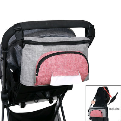 Baby Waterproof Diaper Bags For Stroller Travel Organizer