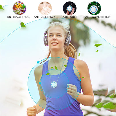 Necklace Air Purifier Pendant Negative