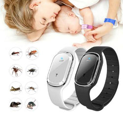 Ultrasonic Anti Mosquito Insect Pest Bugs Repellent Wrist Bracelet