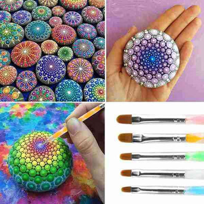 Embossing Stylus Large 18 PCS Dotting Rods for Painting - Amazing Vanity Allure