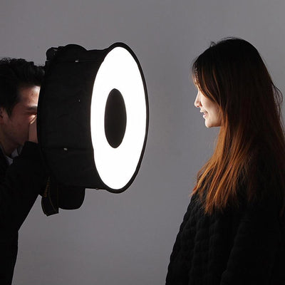 Collapsible Ring Flash Diffuser Soft Box