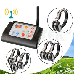 Wireless Electronic Dog Fence System and Dog Training Collar