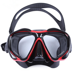 Diving Mask with Tempered Glass Lens Scuba Glasses Goggles - Amazing Vanity Allure
