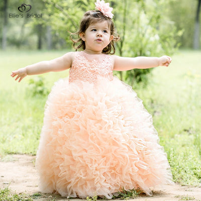 Bridal Girls Princess Pageant Dress - Amazing Vanity Allure