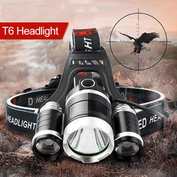 Head lamp 90 degree high Led lighting 4 mode