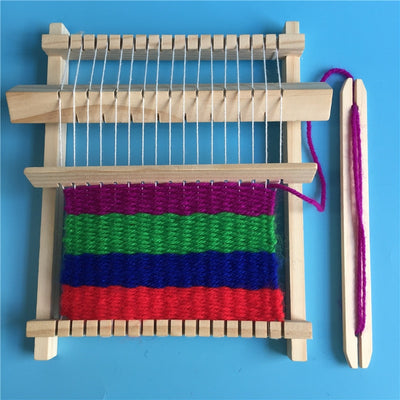 DIY Wool Knitting Machine Kids Educational Montessori Toys