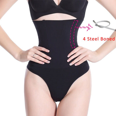Seamless Underwear Thong Panties Slimming Girdle Bodysuit Lingerie