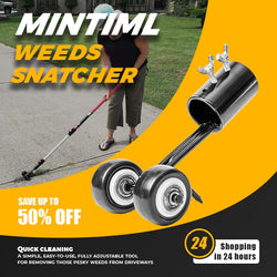 Lawn Mower Mintiml Weeds Snatcher is a simple easy to use