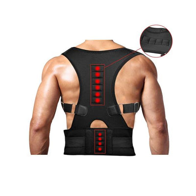 Support-Magnetic-Back-Shoulder-Brace-Beltr-Men-Women SFC