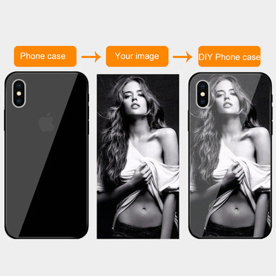 Customized Tempered Glass Cases For iPhone - Amazing Vanity Allure
