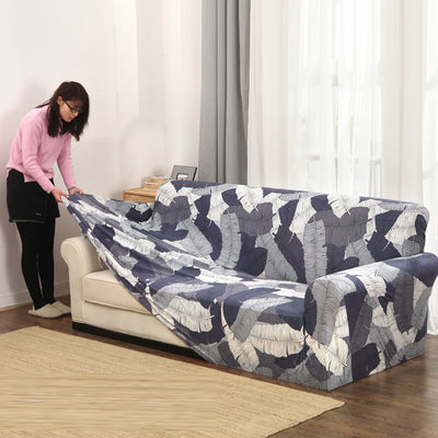 Slip-resistant sectional elastic full sofa tight Cover